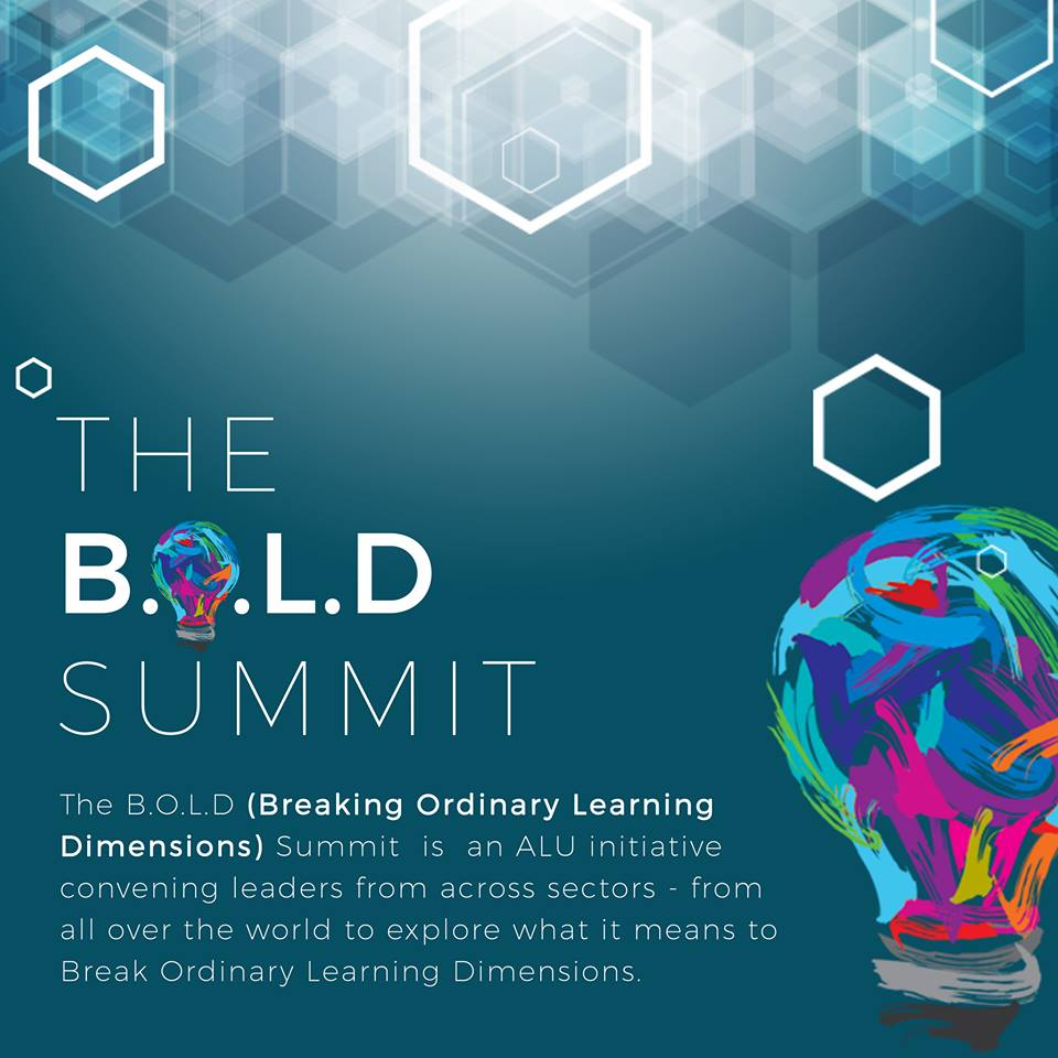 #boldsummit2019 #BeBOLD #ALUisBOLD #InnovativeLearning
